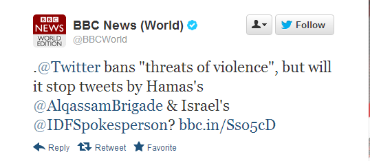 Who is running the BBC News (World) Twitter account?