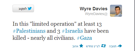 BBC's Wyre Davies promotes misleading information on Twitter