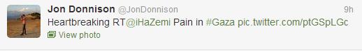 BBC's Jon Donnison Tweets malicious fauxtography