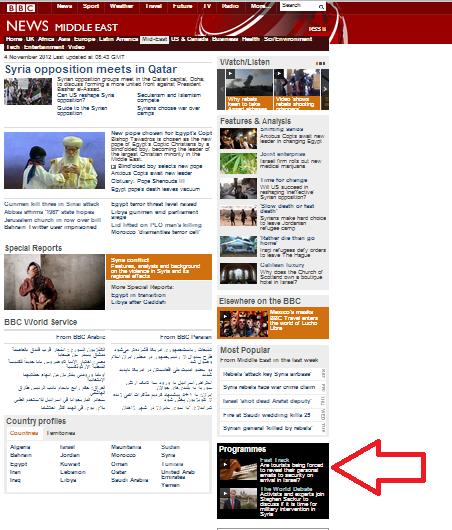 BBC headline promotes a lie