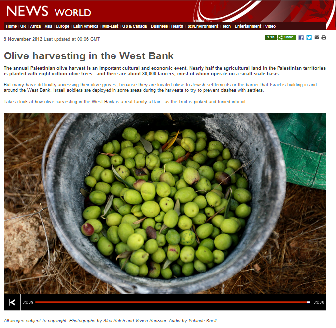 BBC serves up political propaganda with olives