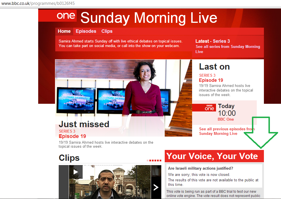 The two faces of BBC's Sunday Morning Live