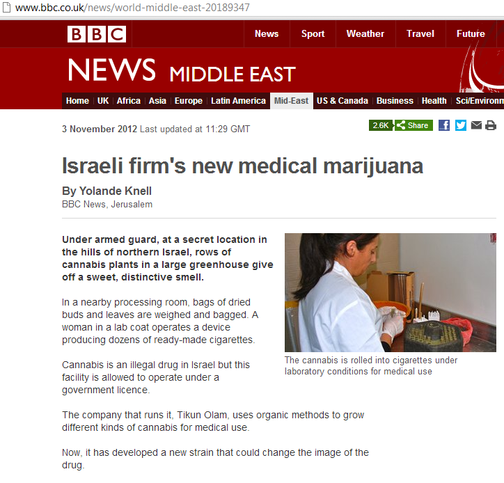 It is no dream: an impartial BBC article about Israel