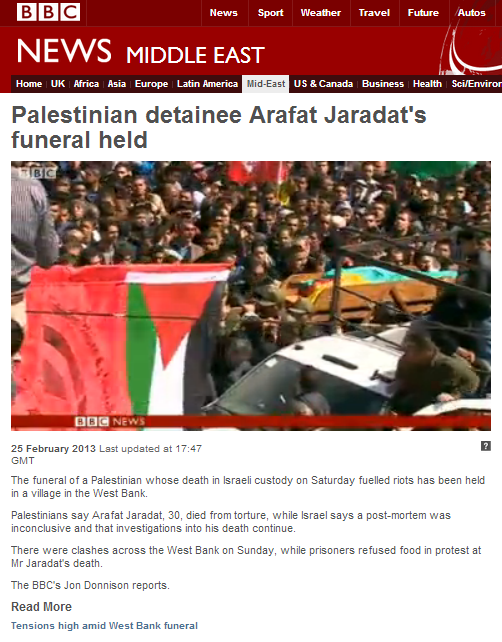 BBC helping along Palestinian incitement