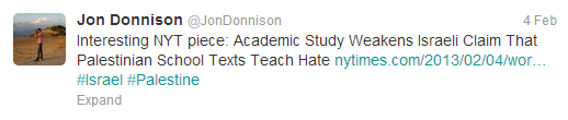 Donnison textbooks tweet