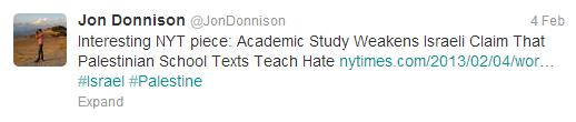 Donnison textbooks tweet
