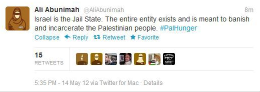 Abnimah jail state tweet