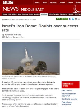 Marcus Iron Dome