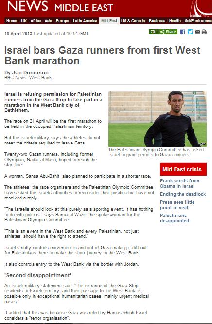 Bethlehem marathon