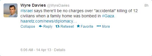 Davies MAG tweet