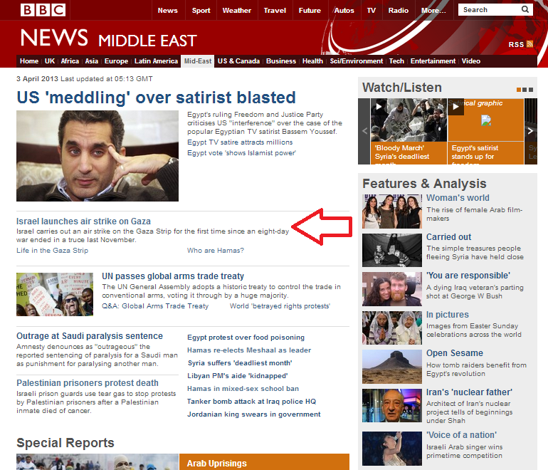 BBC resumes 'last-first' reporting from Gaza area – and then changes tack
