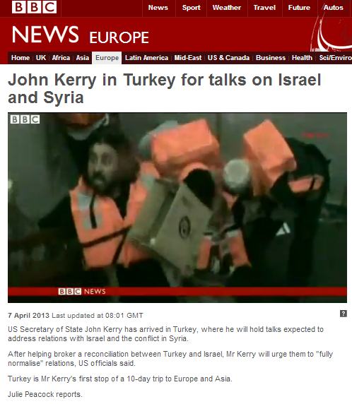 BBC still promoting inaccurate information on flotilla