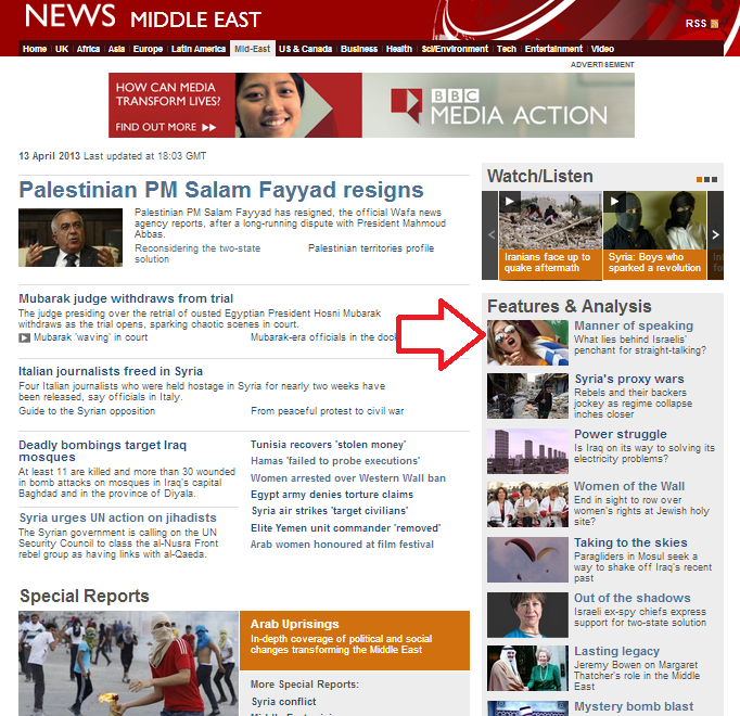 BBC report: Israelis are not polite