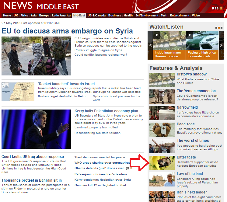 BBC trumpets Hizballah narrative of 'resistance'