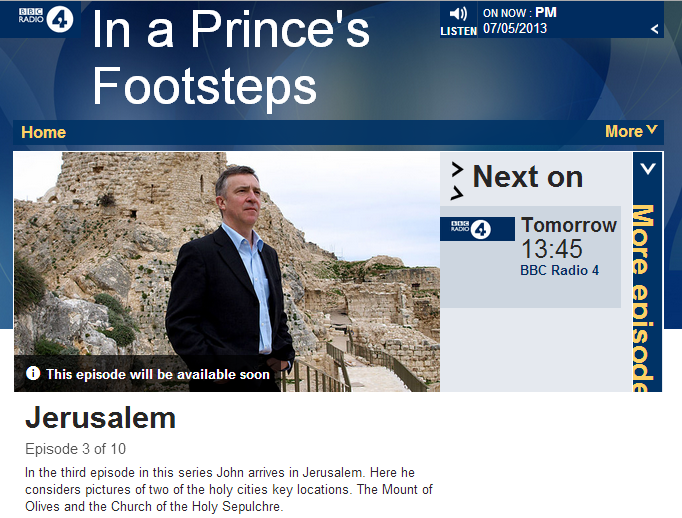 One to watch out for on BBC Radio 4