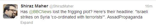 tweet Maher