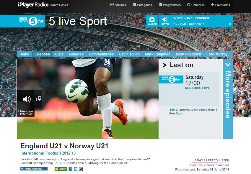 5 Live Sport