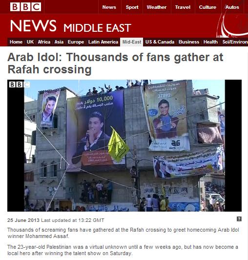 BBC continues 'Arab Idol' binge