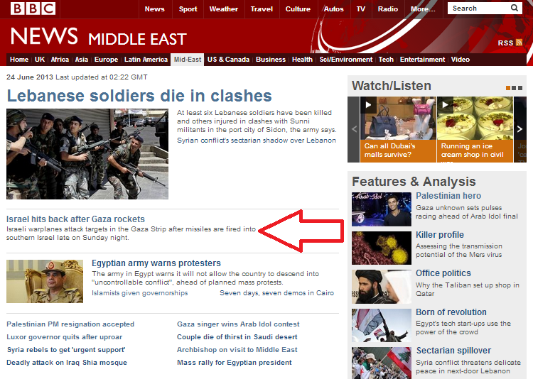BBC's 'last-first' reporting keeps audience attention focused on Israel