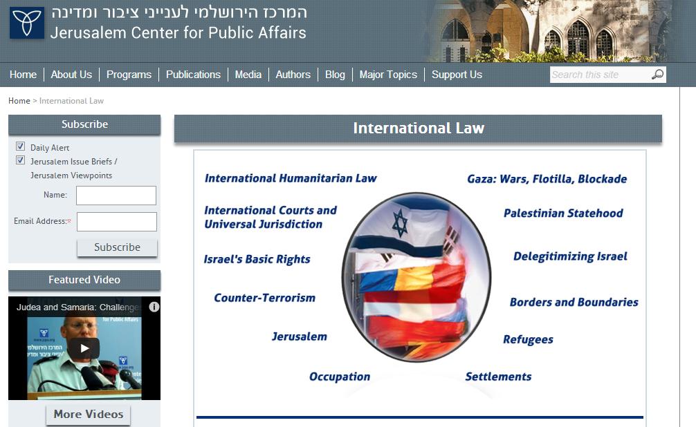 JCPA International Law