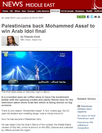 Knell Arab Idol
