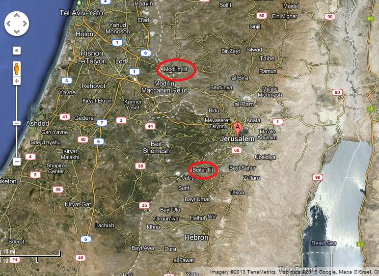 Map MI & BI