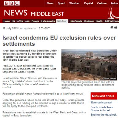EU boycott article