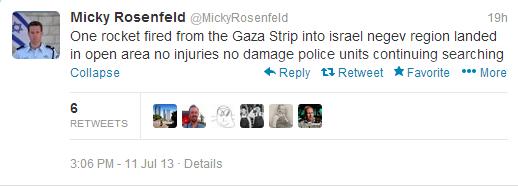 Missile Gaza 11 7