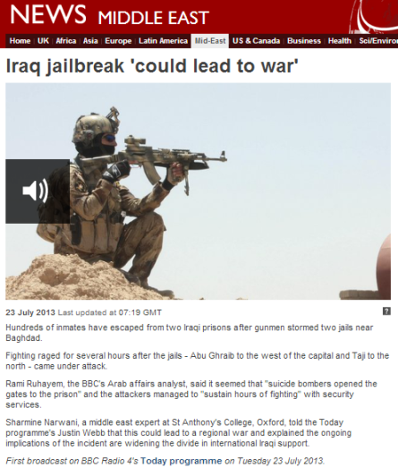 Today prog 23 7 iraq