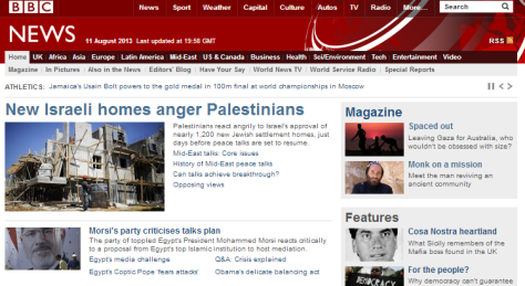 BBC News 11 8 anger Palestinians