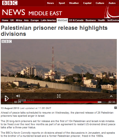 BBC's Kevin Connolly on prisoner release
