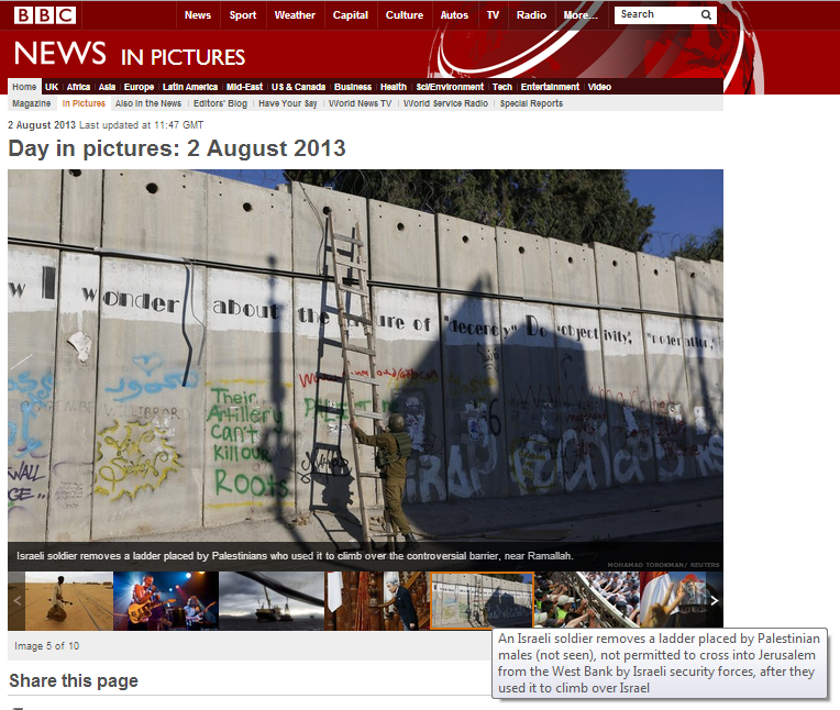 Manipulating BBC audience opinions with pictures