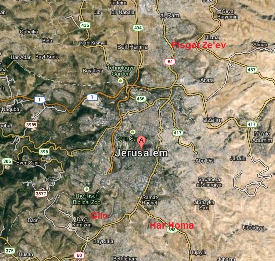 Jerusalem neighbourhoods