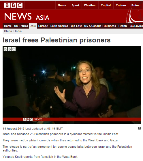 BBC's Knell promotes 'heroes of the Palestinian cause' yet again