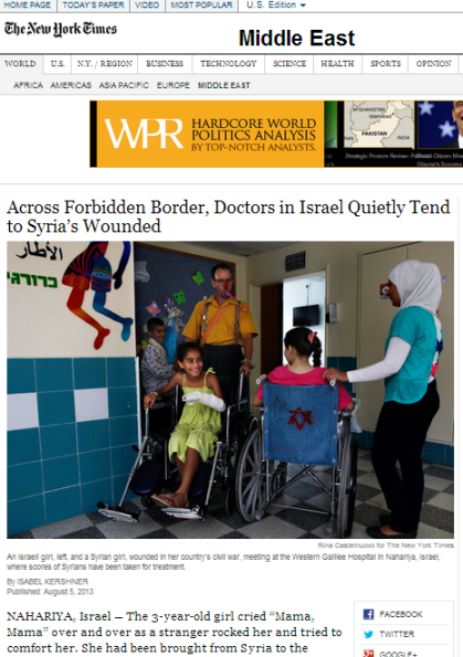 NYT Syrian patients