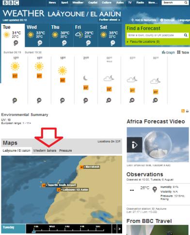 weather EL Aaiun