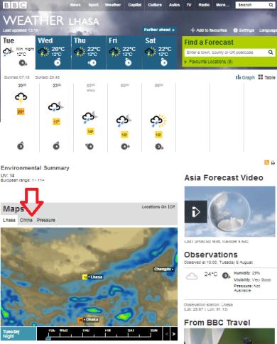 weather Lhasa