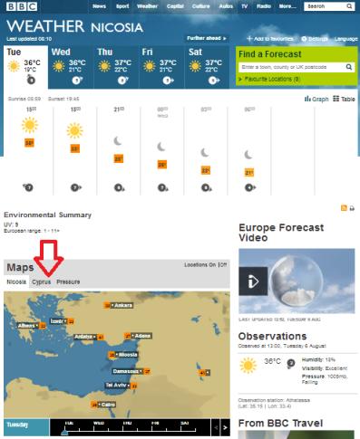 weather Nicosia