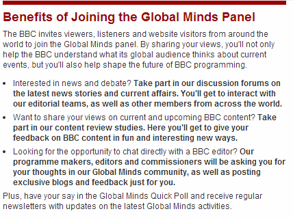 BBC Global Minds