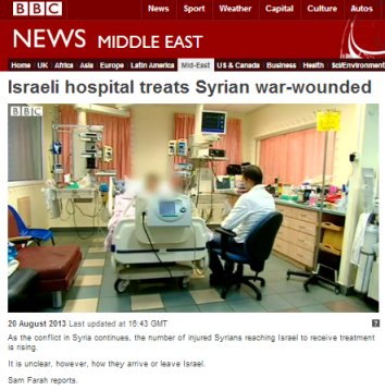Syrian wounded