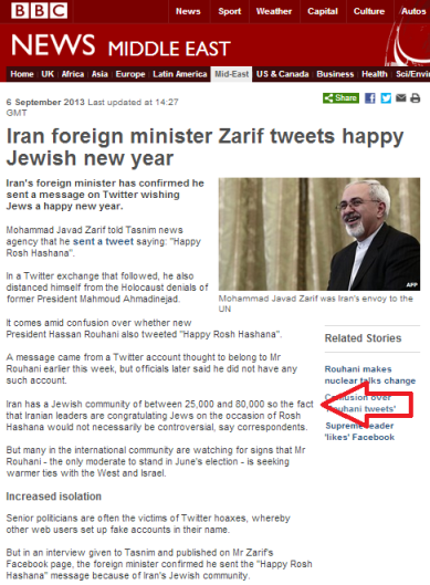 Zarif article