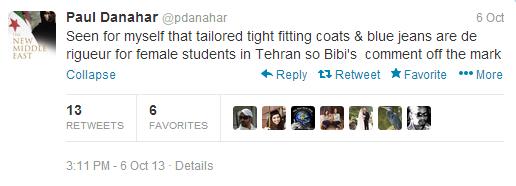 Danahar tweet jeans 2