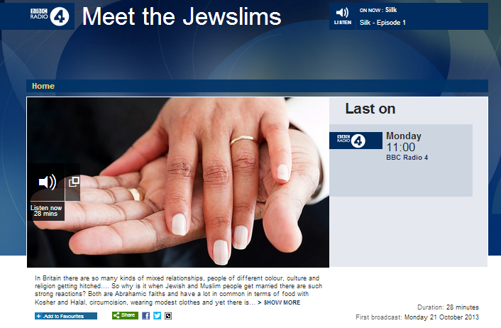 BBC reveals: Israel affects some people's marriages