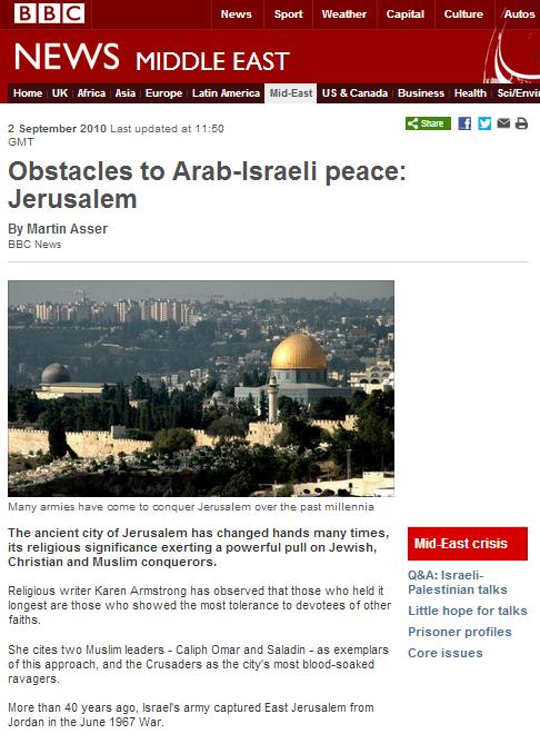 Obstacles Jerusalem