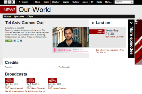 Our World BBC News