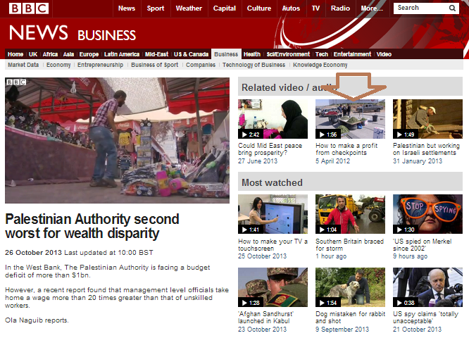 Oldie but baddie: unadulterated Palestinian propaganda on BBC News