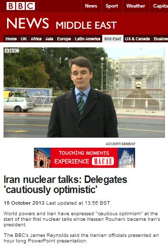 BBC's Tehran correspondent bemoans West's 'lack of trust' in Iran