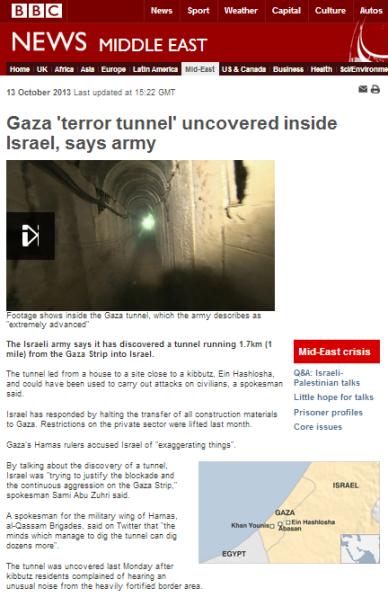 tunnel written