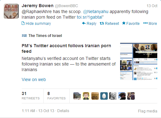 Tweet 2 Iran porn