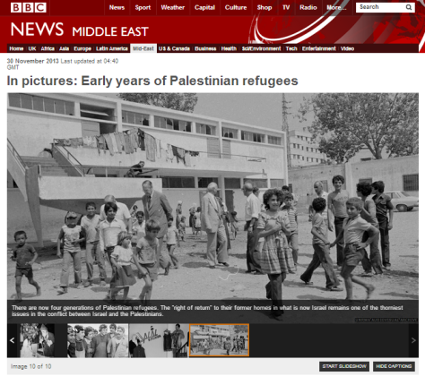In pictures Palestinian refugees
